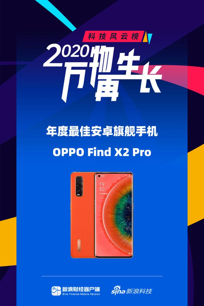 2020科技风云榜详情 OPPO两款产品榜上有名
