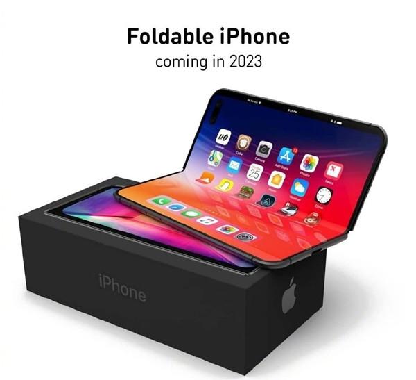 屏幕大得惊人 iPhone折叠屏预计将于2023年发布