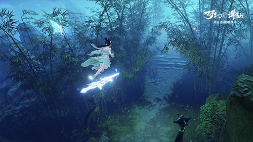 梦幻新诛仙御剑飞行