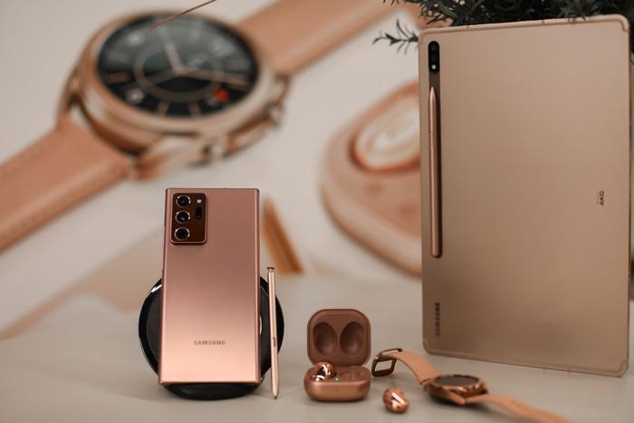 三星Galaxy Note20系列正式亮相 品味未来科技的魅力