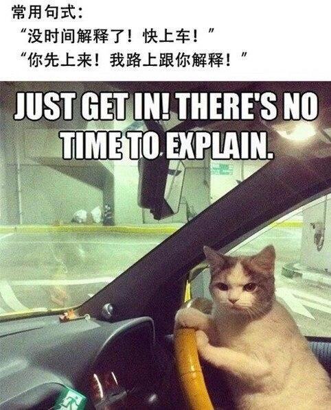 来不及了快上车:这是老司机之间的竞技