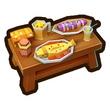奶块初级食物桌如何获得 初级食物桌合成配方分享