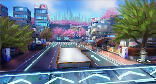 一起来飞车2樱花小镇赛道介绍 一起来飞车2地图前瞻